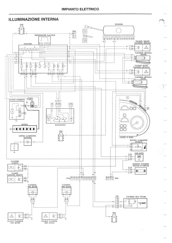 Schema Elettrico Giulietta 2010 : Schema elettrico vecchiemonelle pagina