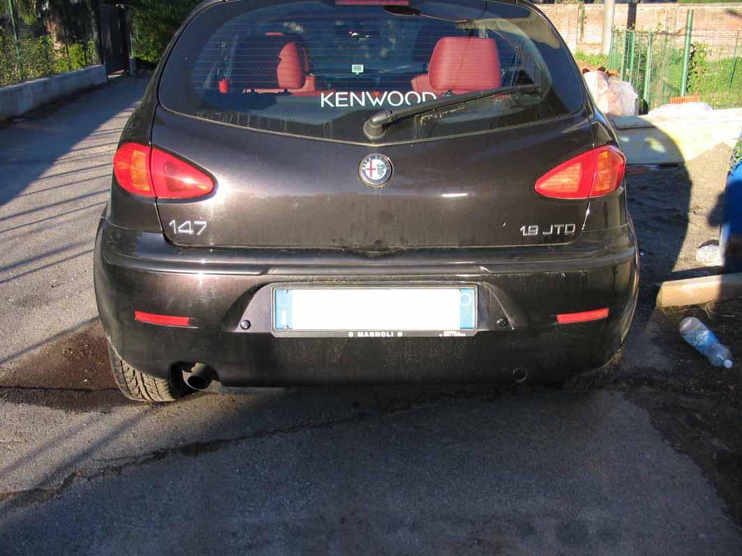 Sensori parcheggio alfa 147