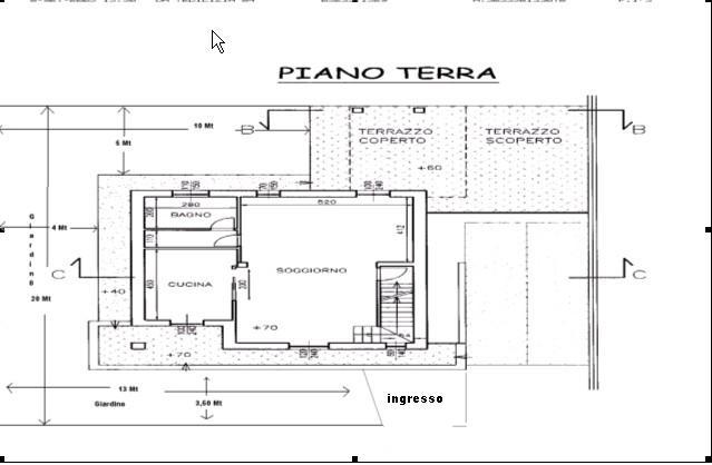Aiuto nella progettazione di giardino per villetta for Planimetrie della mia villa